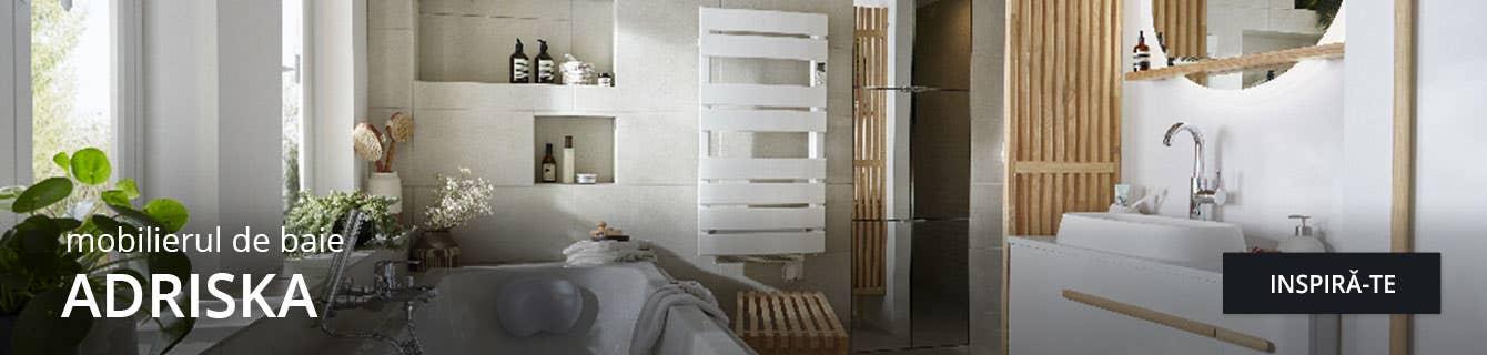 Gama Adriska de mobilier pentru baie