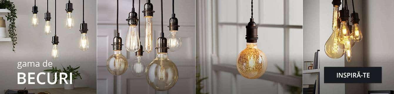 Becuri LED sau cu halogen