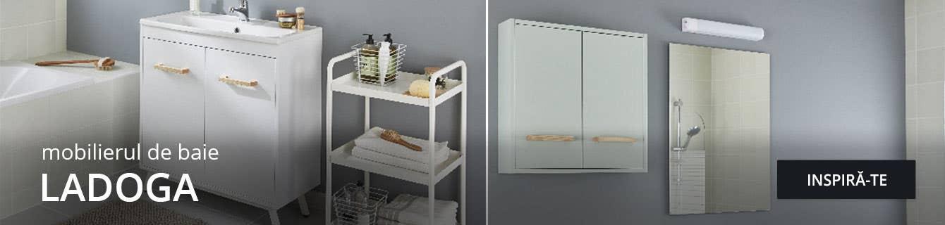 Gama Ladoga de mobilier pentru baie