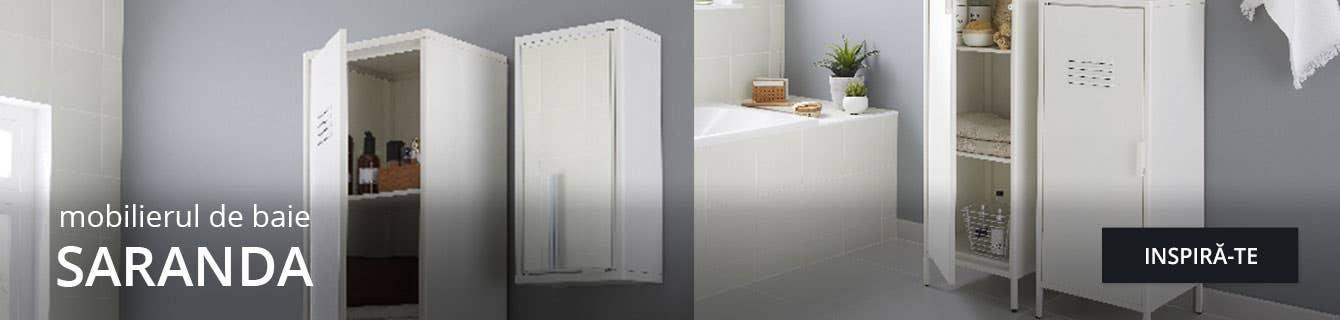 Gama Saranda de mobilier pentru baie