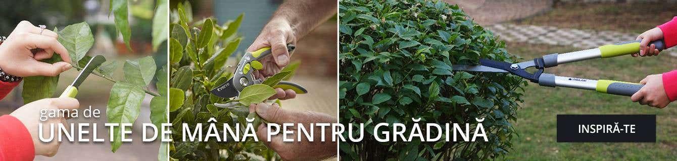 Unelte de mână pentru grădină