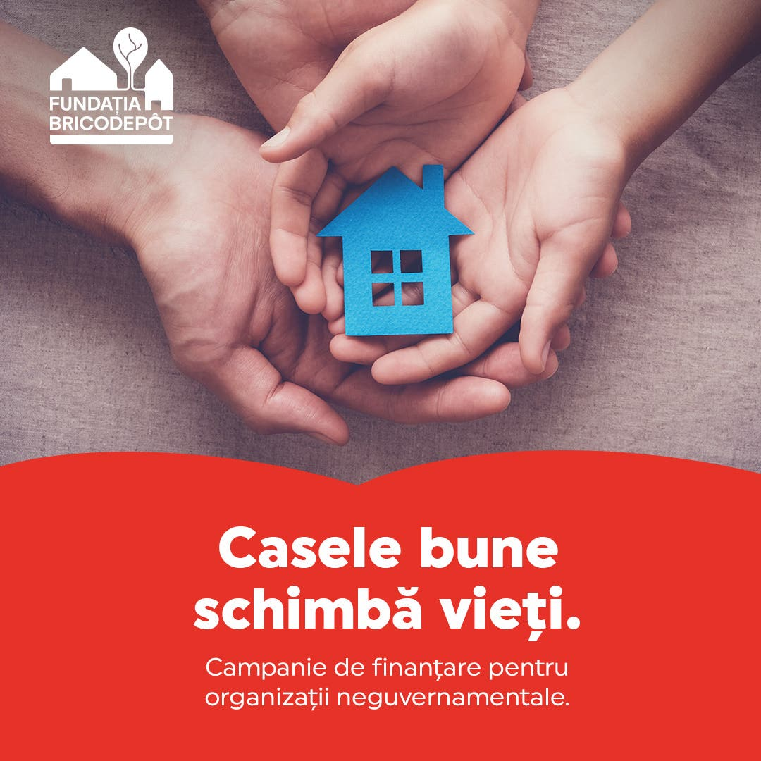 finantare Casele bune schimbă vieţi