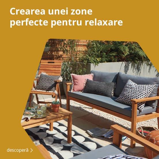 crearea unei zone perfecte pentru relaxare