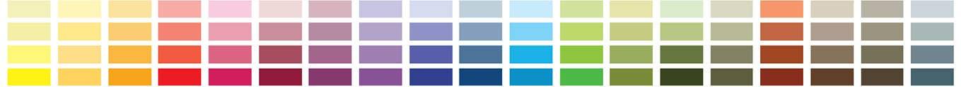 mix paletă de culori