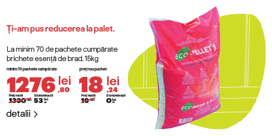 Reducere pack eco pellet