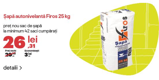 Reducere pachet sapa Firos