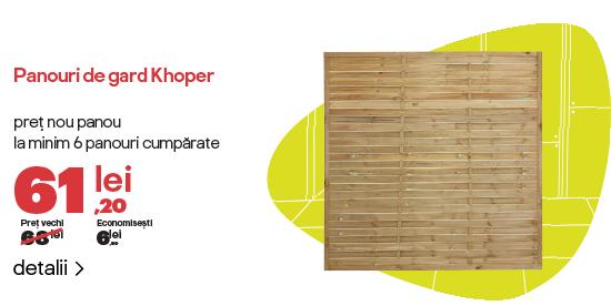 Reducere pachet gard khoper