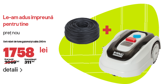 Reducere pachet masina si cablu