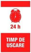 Timp uscare 24h