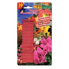 Baton fertilizant pentru plante cu flori, 36 g • Vitaflora