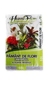 Pamant pentru flori Universal 10L • Humiflor