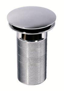 Ventil crom quick clac cu preaplin 100 mm • Wirquin