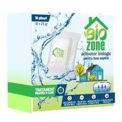 Activator biologic pentru fose septice, 18 plicuri, tratament 4 luni • Biozone