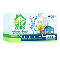 Activator biologic pentru fose septice, 54 plicuri, tratament 12 luni • Biozone