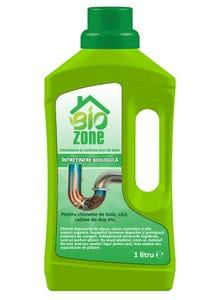 Solutie biologica pentru intretinere tevi baie, 1 L • Biozone
