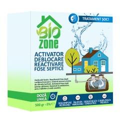 Activator deblocare reactivare fosa septica, 500 g • Biozone