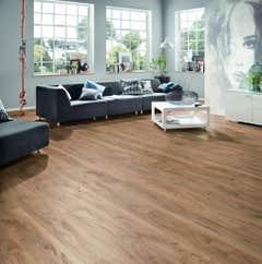 Parchet laminat 10 mm, stejar, HDF, AC4, 1.727 m2/cut 7buc • Krono-Original_101082334