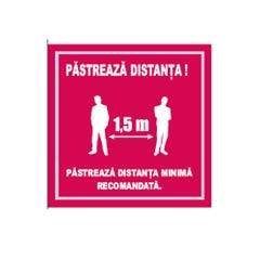"Indicator ""PASTREAZA DISTANTA"", 20X20"