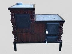 Soba teracota tip cizma, 8kW, 235kg, 104 x 99 x 44 cm • Bucura