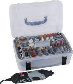 Freza mini cu accesorii 135 W, 35000 rpm • Mac Allister AGL-001
