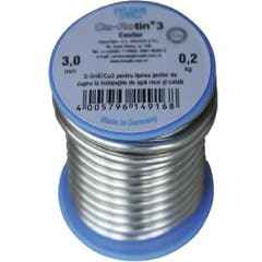 Aliaj lipire moale, 3 mm, 250 mg