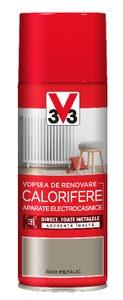 Vopsea spray pentru radiatoare si aparate electrocasnice, V33, metalic, 400 ml, culoare otel inoxidabil