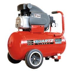 Compresor aer Quartz, 50 l, 2 cp, 8 bar, 125 l/min