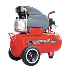 Compresor aer Quartz, 24 l, 2 cp, 8 bar, 125 l/min