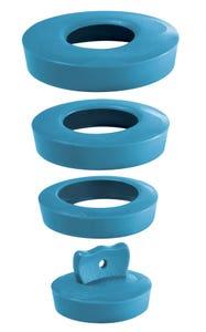 Dop cada-lavoar universal, albastru