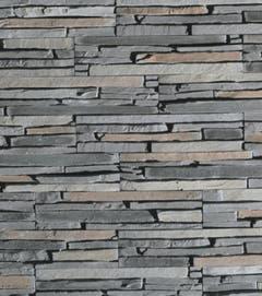 Placare murala, ipsos, roscat/ gri/ gri inchis/ maro, 325 mm X 750 mm, 0,78 mp/ cutie • Oslo Grey
