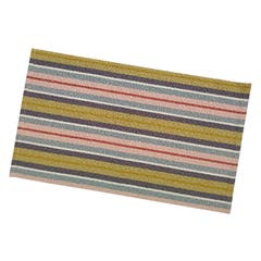 Suport napron farfurie, model dungi, bumbac, multicolor, 50 x 30 cm