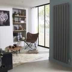 Radiator otel, 1045 W, 1800 x 540 x 65 mm, gri • Good Home