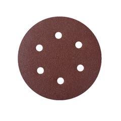 Mix 10 foi abrazive, rotunde, perforate, 150 mm x 150 mm, granulatie 120 • Universal Fit