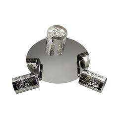 Plafoniera LED, crom, 3 x 50 W, GU10, 240 V, metal • Barrow