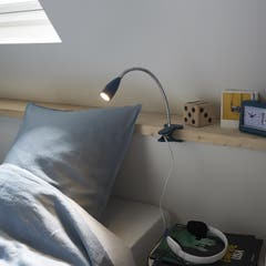 Lampa mobilier, cu clema, albastru, LED • Colours Kulm