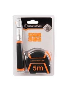 Set cutter retractabil si ruleta 5 m • Magnusson