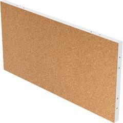 Panou pinboard, pluta si alb, 100 x 50 x 4 cm • GoodHome Alara
