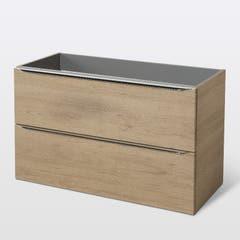 Baza dulap suspendat, model stejar, 100 x 60 x 45 cm - Imandra