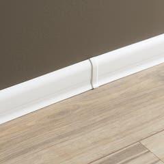 Accesorii imbinare pentru plinta din PVC GoodHome, 2 buc, 12 x 56 x 23.3 mm, culoare alb