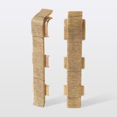 Accesorii imbinare pentru plinta din PVC GoodHome, 2 buc, 12 x 75 x 24 mm, lemn 148141