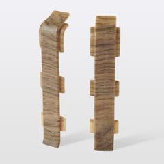 Accesorii imbinare pentru plinta din PVC GoodHome, 2 buc, 12 x 75 x 24 mm, lemn 148116