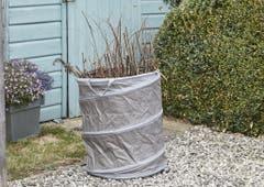 Sac de grădină de tip pop up Verve 120 l, rotund