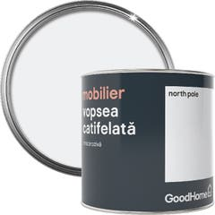 Vopsea mobilier GoodHome, 500 ml, culoare North Pole mat uniform