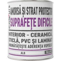 Amorsa Colours pentru suprafete dificile, interior, 750 ml, culoare alb