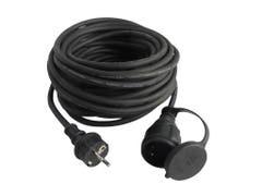 Cablu prelungitor stecar cu capac de protectie pe conectorul mama Diall H07RN-F, 10 m
