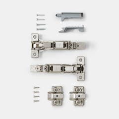 Balama slide on cabinet, unghi 165 GR • Titus