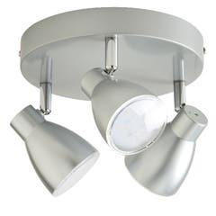Plafoniera LED, alba, 240V, metal si plastic • Colours Vacuna