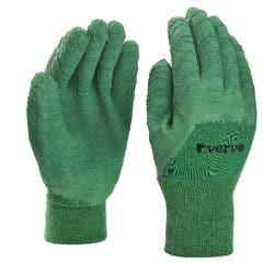 Manusa Verve de gradinarit impregnata din latex, marime L, verde