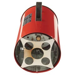 Aeroterma pe gaz cu tiraj fortat REF BAO-9, 220 -240 V, 10 kW, culoare rosu