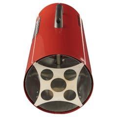 Aeroterma pe gaz cu tiraj fortat REF BAO-30, 220 -240 V, 30 kW, culoare rosu